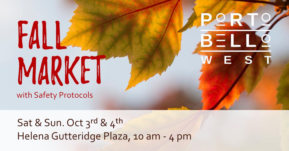 Portobello West Fall Market