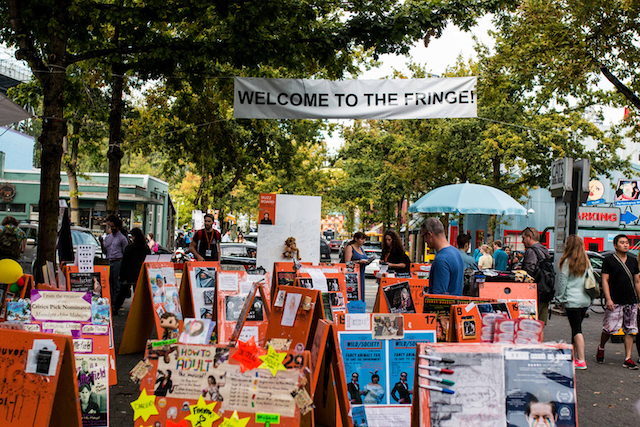 Vancouver Fringe Festival. Photo by Clayton Wong.