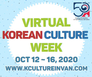 Virtual Korean Culture Week in Vancouver