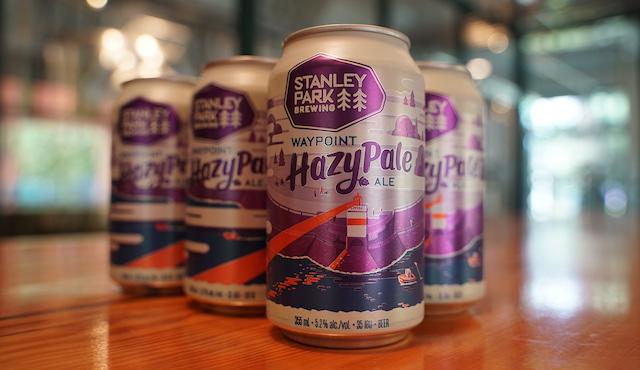 Waypoint Hazy Pale Ale Cans