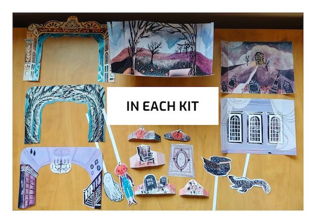 Hallow's Eve Paper Theatre Kit