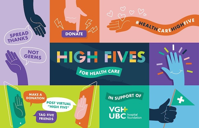High Fives for Health Care