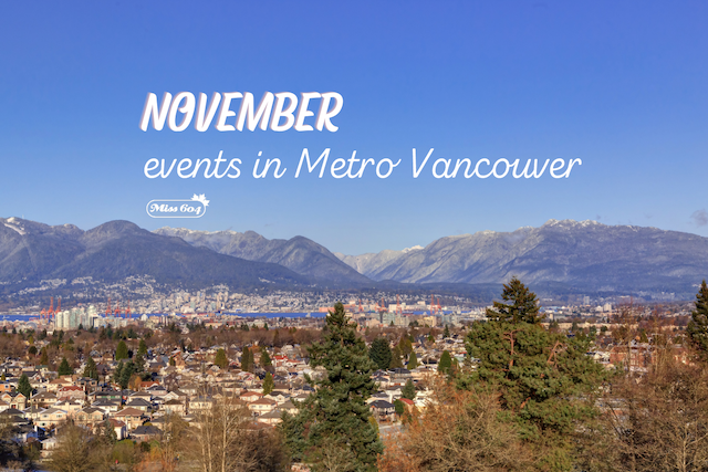November Events in Vancouver
