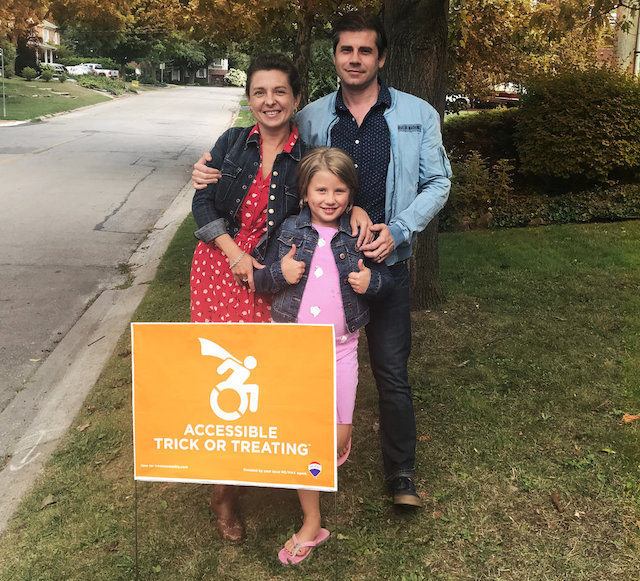 Treat Accessibly founder Rich Padulo and family