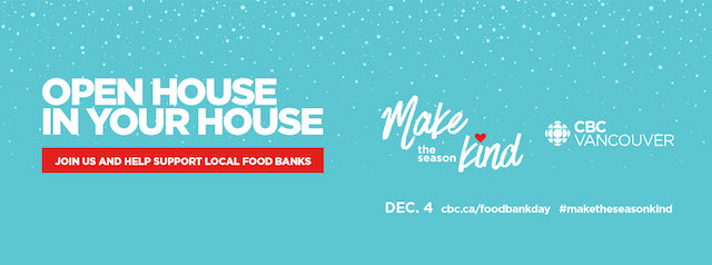 CBC Vancouver Open House and Food Bank Day 2020 ...