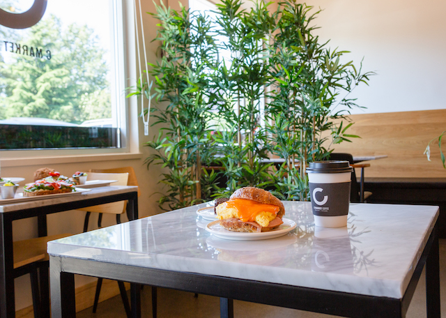 Coquitlam Cafes - C Market Coffee