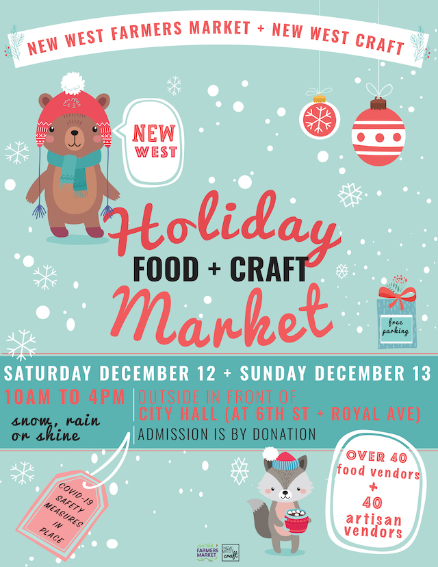 New West Holiday Food and Craft Market