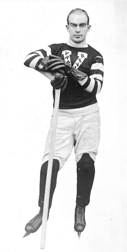"1919 - Fred ""Cyclone"" Taylor. Photo Stuart Thomson."
