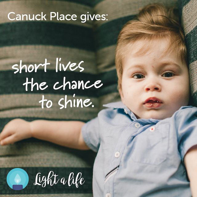Light a Life Canuck Place