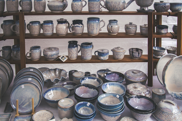 Coquitlam-Made Pottery