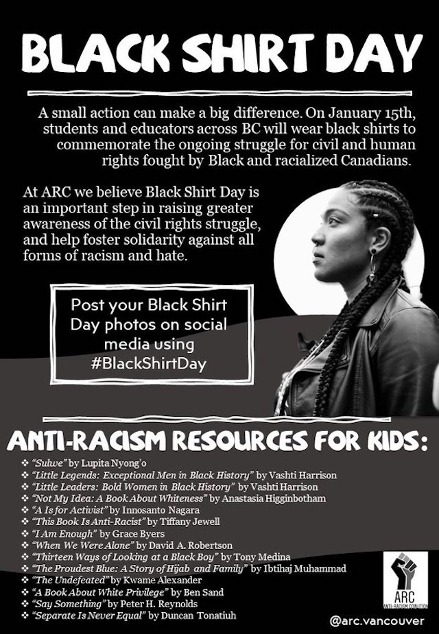 Black Shirt Day