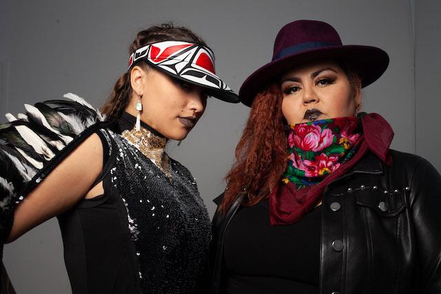 DJ Kookum and SIerra