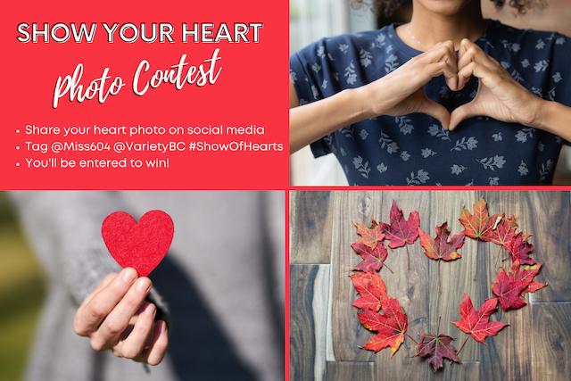 Show Your Heart Contest Medium