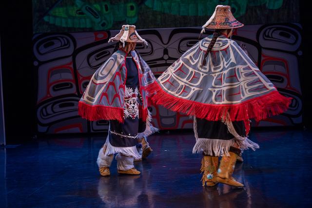 Dancers of Damelahamid. Photo by Chris Randle.