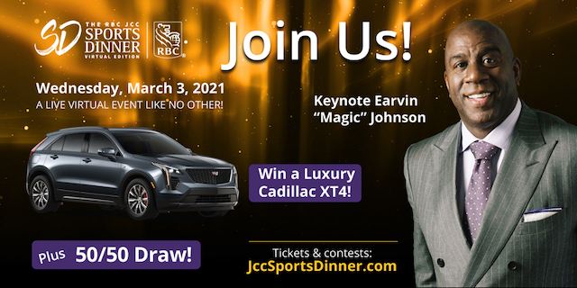 JCC Sports Dinner Auction is Now Live