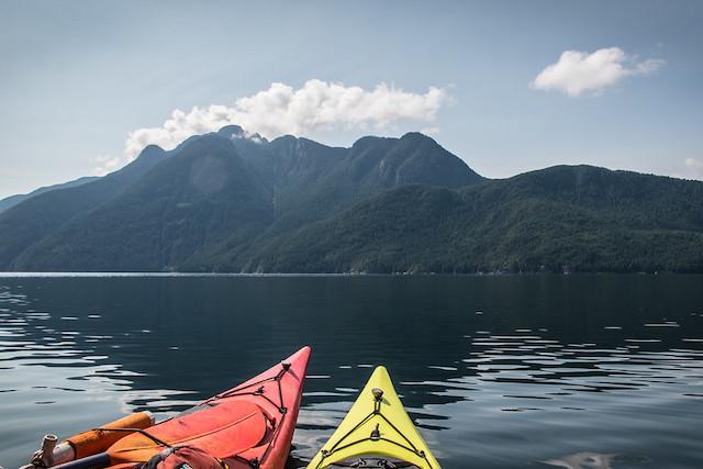 Kayaking Desolation Sound Miss604