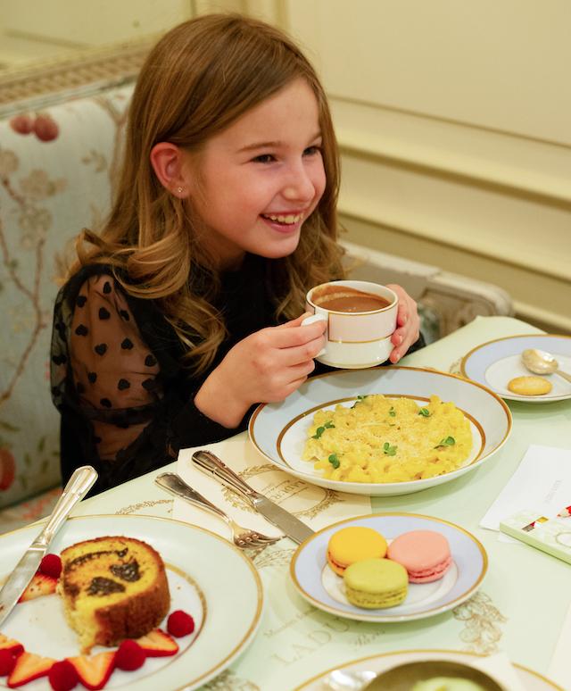 Spring Break Afternoon Tea at Laduree Kids