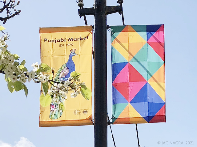 Street Banners. Photo by Jag Nagra.