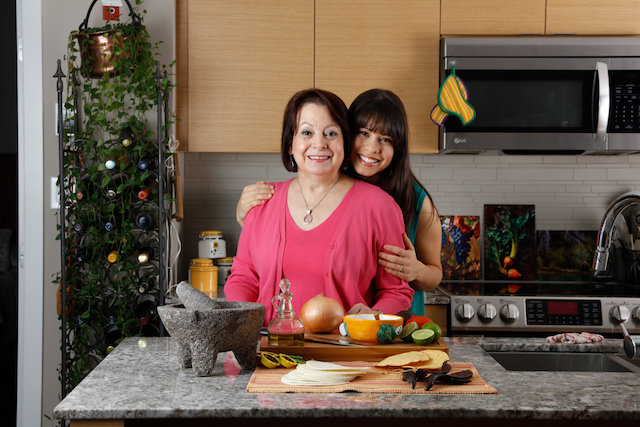 Andrea and Mom Solecito Foods SPUD