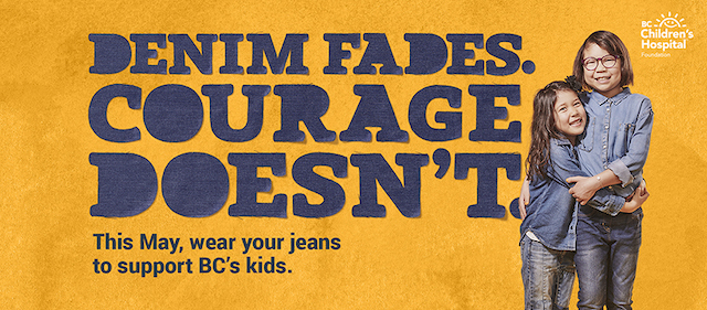Jean Up for BC Children's Hospital