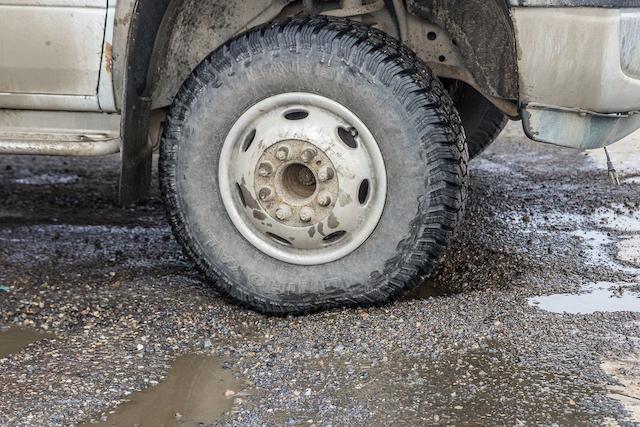 Kal Tire Pothole