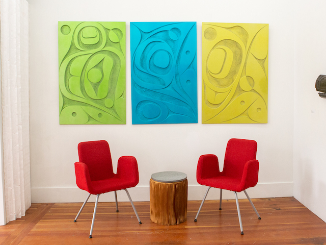 Strathcona Art Walk - Rande Cooke (at FAZAKAS gallery)