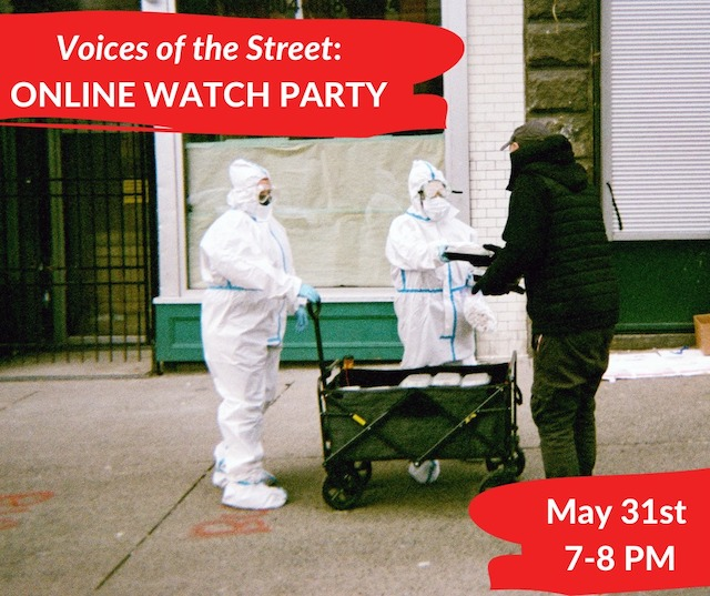 Voices of the Street Online Launch Party 2