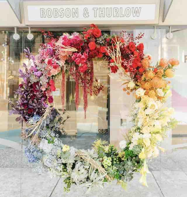 Fleurs de Ville 2020 wreath by Botany & Bloom