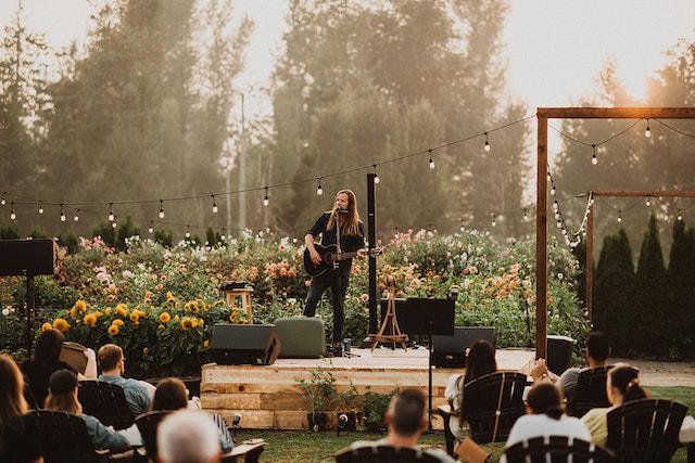 Abbotsford Sun & Soil Concert Series. Photo by Robyn Bessenger
