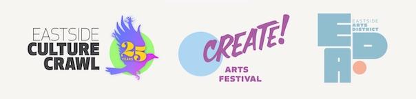 Eastside Arts Society logos