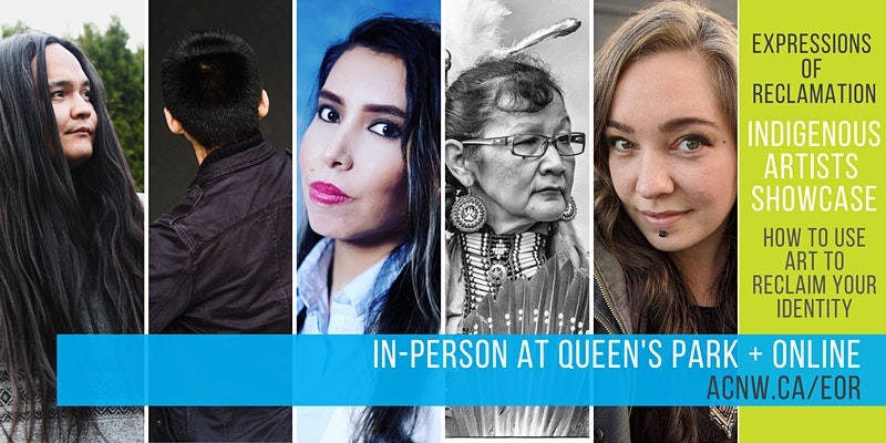 Expressions of Reclamation an Indigenous Artists Talks Series