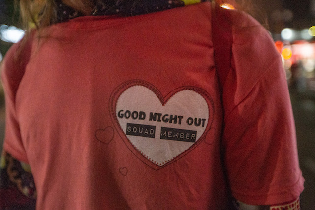 Good Night Out Vancouver - Granville Street Team. Photo by JustJash.com