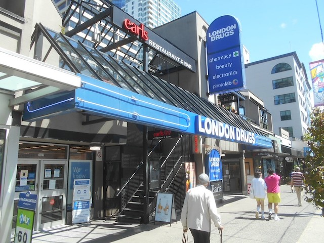 London Drugs Robson Re-Opening with Live Music and More