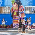 Vancouver Mural Festival Tour. Photo credit Gabriel Martins