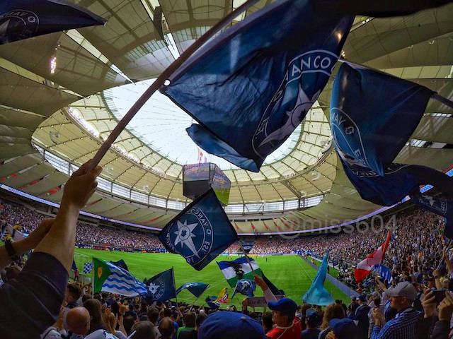 Whitecaps Return to BC Place August 21