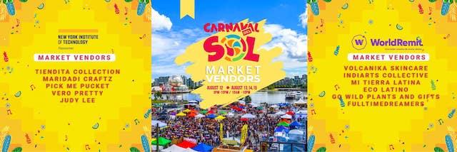 2021 Carnaval del Sol vendors