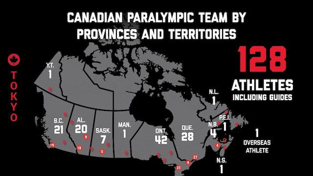 Canadian Paralympians at Tokyo 2020