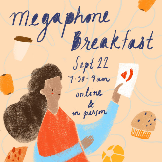 Megaphone Breakfast Fundraiser
