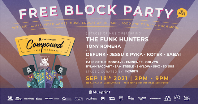 Monstercat Compound Free Block Party