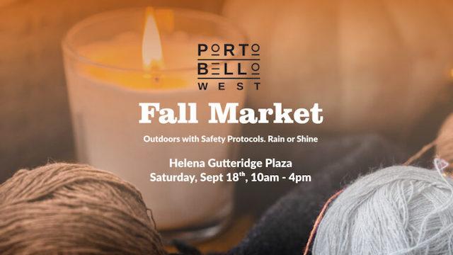 Portobello West Fall Market 2021