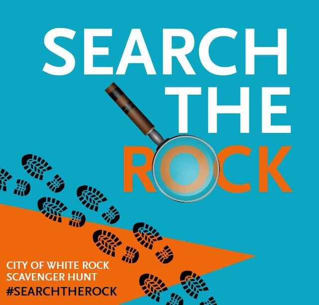 Search The Rock Scavenger Hunt