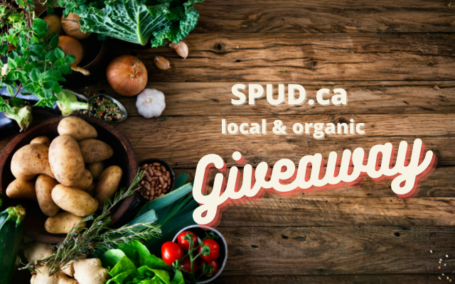 SPUD Local and Organic Grocery Giveaway