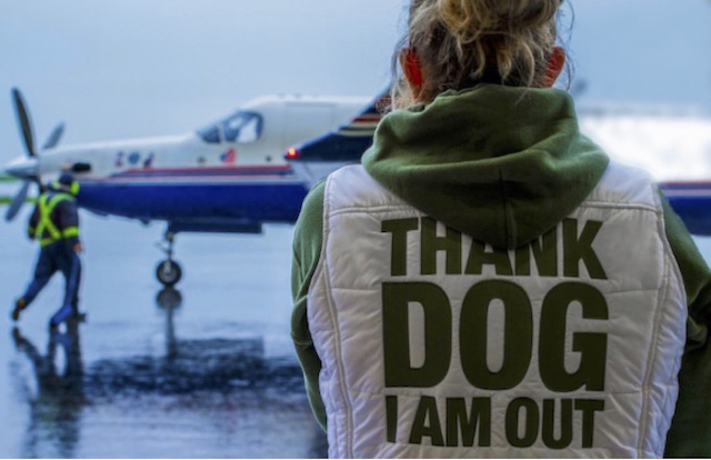 Thank DOG I am Out President Susan Susan Patterson (Wings of Rescue 2017)