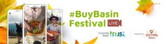 BuyBasin Festival online! Support local small business