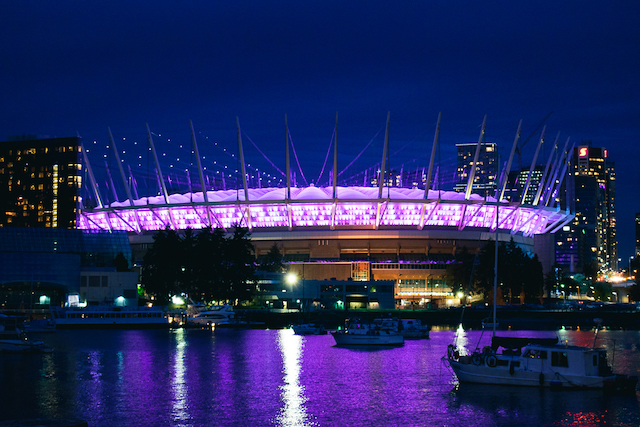 BC Place Lighting for CP-1