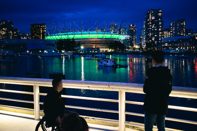 BC Place Lighting for CP-3