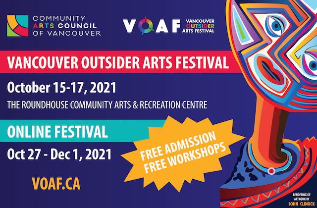 Vancouver Outsider Arts Festival 2021