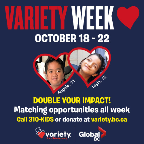 Variety Week on Global Oct 16 to 22
