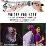 Voices for Hope Supports Afghan Women and Girls